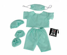 Doctor scrubs teddy bear clothes