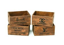 Crate flowers books box furniture