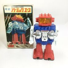 Tinplate robot battery operated