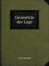 Geometrie der lage by g k new