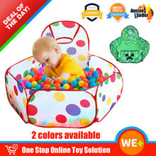Au foldable kids baby ocean ball
