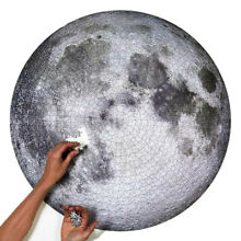 The moon 1000 teile puzzel spiel