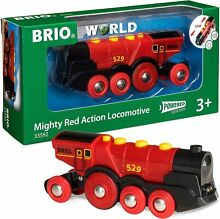 33592 mighty red action locomotive