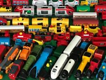 Lots individual genuine trains for