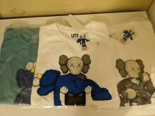 Kaws x uniqlo summer 2019 three t