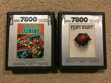 Donkey kong junior and fight night