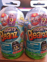 Slam pack recieve two sets 8 beanz