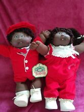 Toothty twins red outfits african