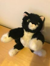 Buttons soft toy cat from