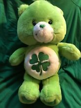 Good luck lucky green shamrock soft