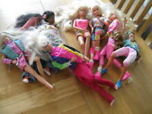 Job jointed dolls mattel from the