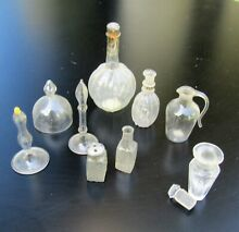Selection of dolls house glass