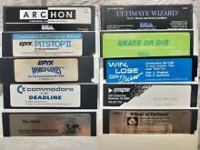 11 games c64 128 tested working