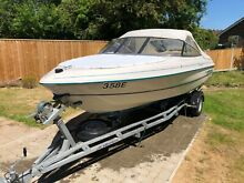 19ft monterey bow rider sports boat