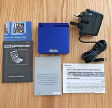 Advance sp blue gaming console