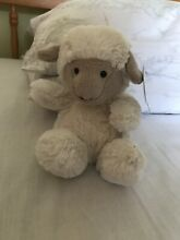 Small lamb baby poppet soft toy