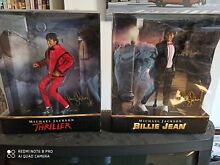 2 figurines bandai thriller et