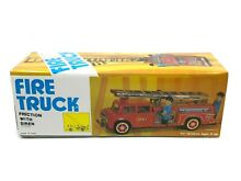Fire truck friction w siren mf718