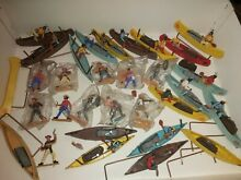 Toys lot cowboys indians knights