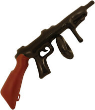 Inflatable toy tommy gun fancy