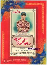 2010 allen ginter auto red ink