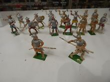 Toy soldiers plastic vikings by