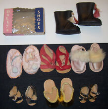 Lot 14 girl doll shoes different