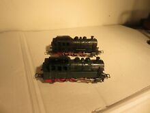 Two tm 800 locomotives in black and