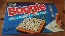 Boggle 3 minute word game