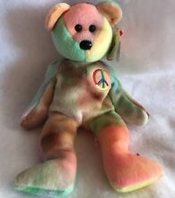 Ty beanie baby paix l ours 1996