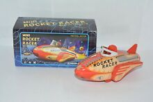 Mini rocket racer friction power