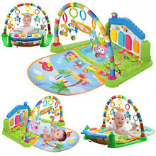 4 in1 fitness music baby play mat