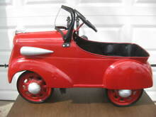 Restored 1936 ford pedal car