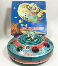 Tinplate toy x 8 space explorer