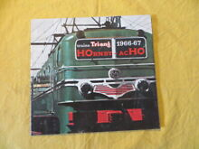 Catalogue trains tri ang acho 1966