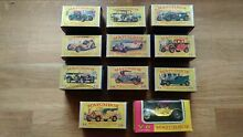 11 matchbox lensley models of 1 43