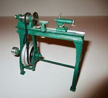 P m research live steam wood lathe