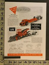 1953 toy ad vehicle truck tractor