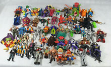 Large collection of action figures