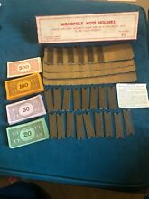Monopoly note holders s set of 4