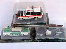 1 43 lot 3 models police polizei