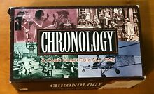 Chronology a card game for all time