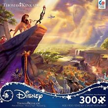 Lion king 300 piece jigsaw puzzle