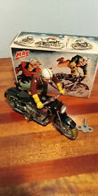 Classic toy tinplate motorcycle mac