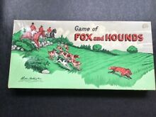 Board game fox and hounds 1948