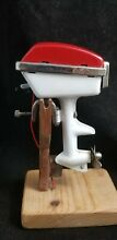 1950 s toy boat electric outboard