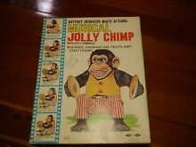 1st issue musical jolly chimp