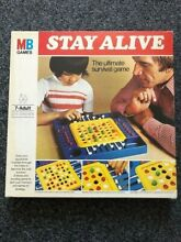 Stay alive board game mb games 1977