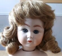 Dolls wig ringlets mousey brown