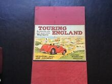 Touring england board game by 1930s